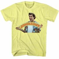 Ace Ventura Mens Short Sleeve T-Shirt Yellow Heather Loser Crewneck Graphic Tee