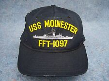 USS Moinester FFT- 1097 Embroidered Hat Men's