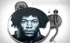 Ltd. Edition Record Collector's JIMI HENDRIX  7 or 12 inch TURNTABLE platter MAT