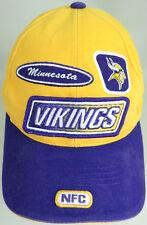 Minnesota Vikings Football Hat Cap Puma  NFL NFC Adjustable Strap No Damage