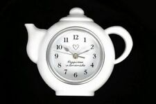 Happiness Is Homemade Wall Hanging Kitchen Teapot Clock