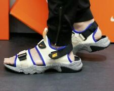 Nike CANYON SANDAL Men's Fossil / Orange CI8797 202 UK 6 EUR 40
