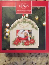 Lenox Holiday Window Frame Ornament 4� Nib