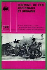 Chemins de Fer Régionaux et Urbains 126, Tramways, Air comprimé dans mines, FACS