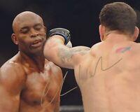 CHRIS WEIDMAN SIGNED UFC 8X10 PHOTO 11