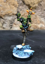 Scrappa Sorehead Blood Bowl Star Player Pro Painted Goblin Warhammer Pro Paint