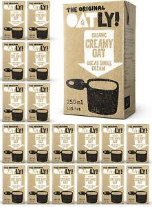 Oatly - Oat Alternative to Cream - 250ml (Case of 18) - Use as Single Cream