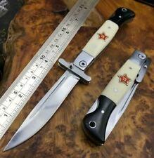 Russian Finka NKVD KGB EDC Manual Folding Pocket Knife