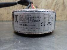 Tirad Magnetics Power Transformer Vpt48-3300 Used Good