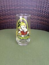 1986 Vintage Pizza Hut Flintstone Kids Barney Glass
