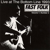 Various Artists - Fast Folk Musical Magazine (2) Live at 7 / Various [New CD]