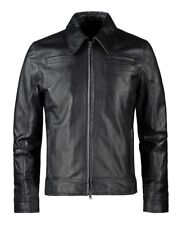***** Soul Revolver Italian leather jacket Looper movie replica size M *****