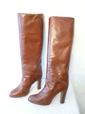 "Bottes  vintage  1982  ""Gold""  -  BAILLY ---  T. 39"