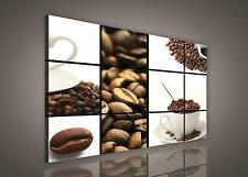 CANVAS PRINT PHOTO PICTURE (PP174O1) 100x75cm Coffee Cafe Kitchen