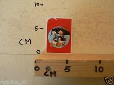 STICKER,DECAL DONALD DUCK,KATRIEN 2012 PANINI ALBUM  CARD 60 YEARS