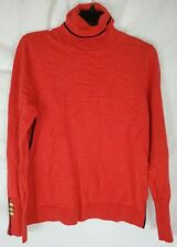 Court & Rowe Women's Turtleneck Holland Long Sleeve Sweater Red Medium New Tags