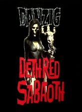DANZIG cd cvr DETH RED SABAOTH Official Black SHIRT Size LRG new