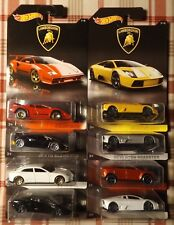 Hot Wheels LOT Of 8 LAMBORGHINI Walmart Exclusive Full Set CLEAN FREE SHIPPING!
