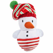 """Time for Joy SISAL SNOWMAN Catnip Cat Toy Holiday Christmas Scratch 4.5"""""""