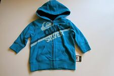 Quiksilver Toddler Boys 24M Turquoise Hooded Sweatshirt Warm Winter  24 Month