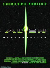 Alien Ressurection (Teaser), 2008 sci-fi movie poster decor interior design