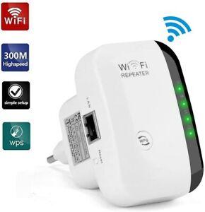 300 Mbit/s WIFI Repeater EU WLAN Signal Verstärker Access Point Wifi Booster DHL