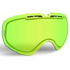 509 Revolver Snow Goggle Replacement Lens - Lime Tint - 509-REVLEN-17-LI