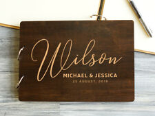 Personalized Wedding Guest Book Custom Guestbook Wedding Book Handmade Alternate
