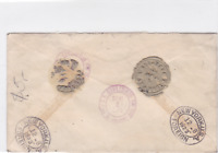 united states 1923 to wien thugutstr.4. registered  stamps cover ref r15467