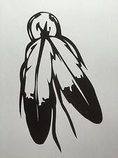 Indianer Feder Aufkleber Sticker  m336