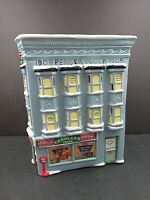 Coca Cola Town Square Collection Candler's Drugs Christmas Porcelain Building