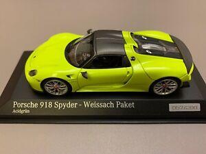 Minichamps Cartima Porsche 918 Spyder 1/43
