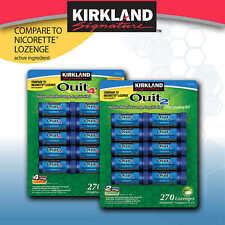 Kirkland Signature Quit Lozenges 270 Pieces - 4MG - NEW