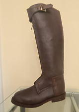 Horse Riding Polo Boot with YKK zipper,Good Year Welted Leather Sole UK size 7.5