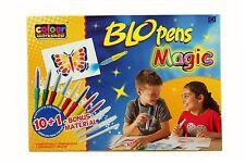 Kinder Spielzeug Pustestifte Set Mädchen Jungen Malinos Blopens Magic 10 + 1