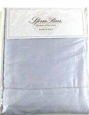 Sferra 100% LONG STAPLE COTTON KING Cool Crisp Percale Sheet Set Italy Gray