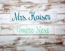 Bridal Garter Set Keepsake Toss Personalized