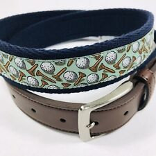 Tommy Bahama Men's Golf Belt.Navy.Size Xtra Large 42-44.MSRP$68.00