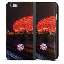 Apple iPhone 6 Tasche Hülle Flip Case Allianz Arena bei Nacht FC Bayern München