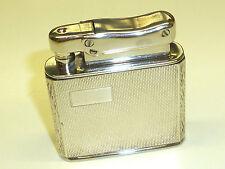 IBELO monopolio ART DECO Wick Lighter W. 925 Sterling Silver Case - 1952-Germany