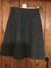 Pure New Wool A Line Skirt By Eastex