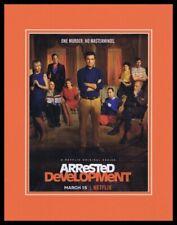 Arrested Development 2019 Netflix Framed 11x14 ORIGINAL Advertisement