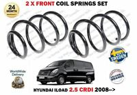FOR HYUNDAI ILOAD 2.5 CRDI 2008 > NEW 2 X FRONT LEFT + RIGHT COIL SPRINGS SET