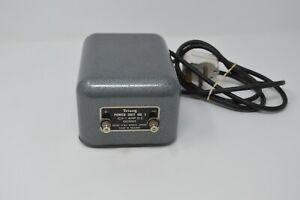 TRI-ANG POWER UNIT No.1. 12V- 1 amp D.C. OUTPUT (TESTED)