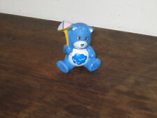 VINTAGE'83 seduta Scontroso Bear Blu Cloud PIOGGIA simbolo CARRY UMBRELA TIMBRO AGC