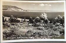 RPPC Oregon OR Goose Lake Lakeview Water Junipers Circa 1930s Eastman