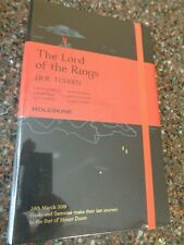 Moleskine Lord of the Rings Pocket Large Ruled Notebook Mount Doom Limited NEW