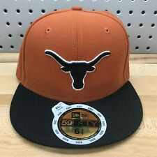Texas Longhorns NCAA New Era 59FIFTY Size 6 5/8 Fitted Hat KIDS Youth NWT Cap