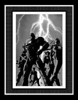 Dark Avengers #1 Cover Production Art by Mike Deodato Jr. - Iron Patriot Armor