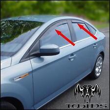 4 Déflecteurs de vent pluie air teintées Ford Mondeo IV MK4 berline 2007-2012